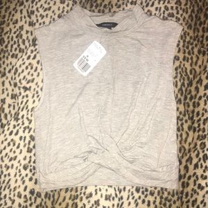 NWT Forever 21 Crop top mock neck